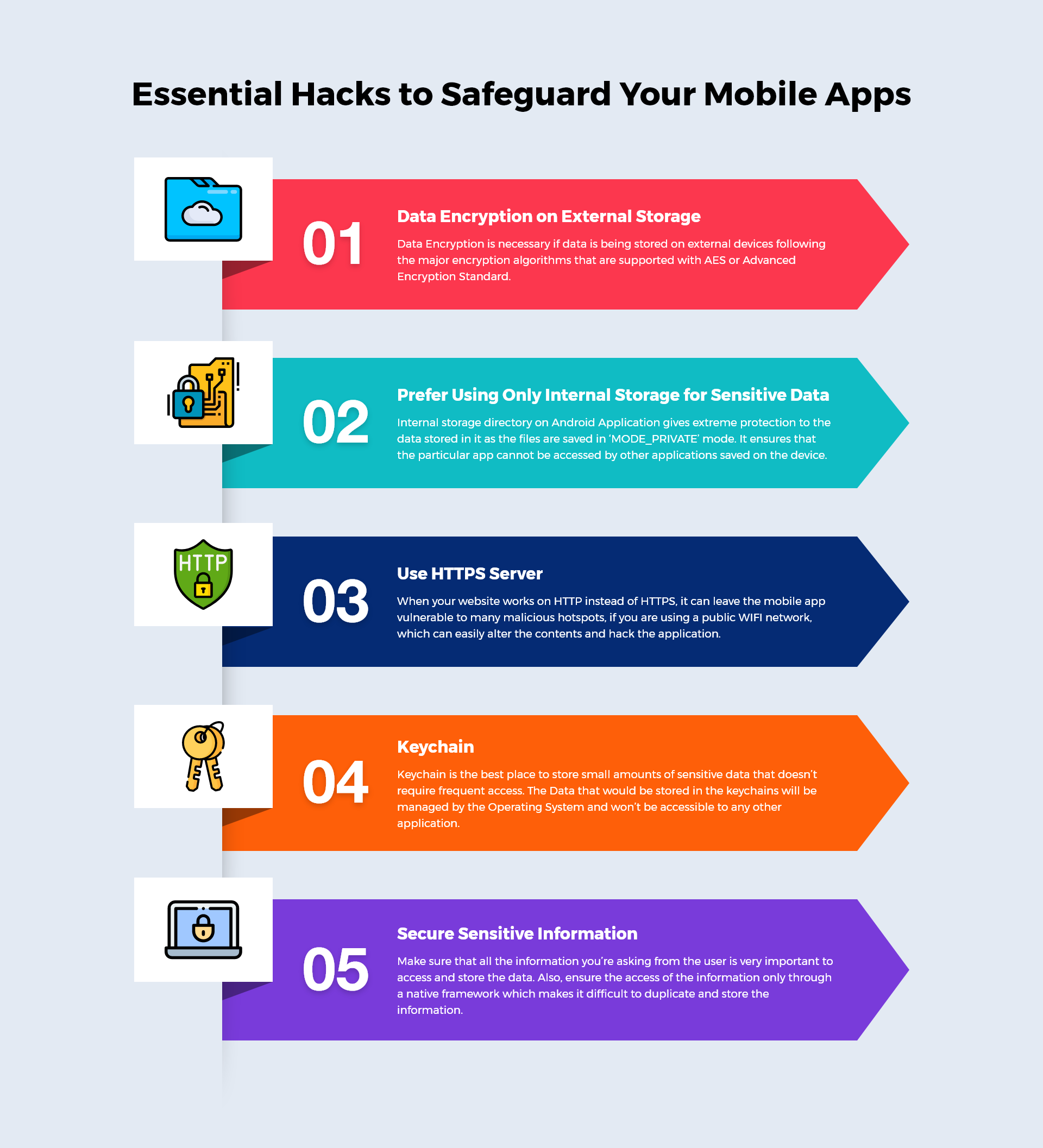 hacks to safeguard mobile